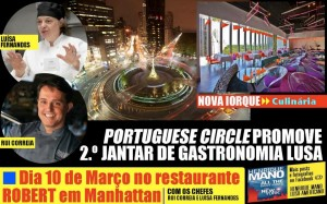 Portuguese Circle Dinner 2013 at Robert Restaurant – MAD NYC