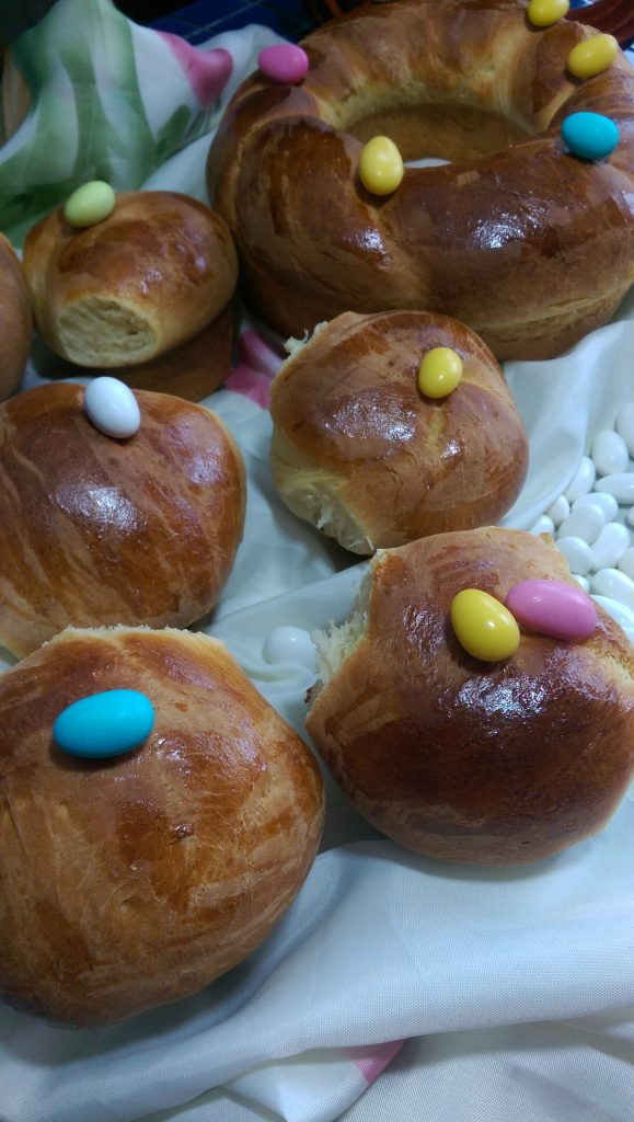 pao doce easter