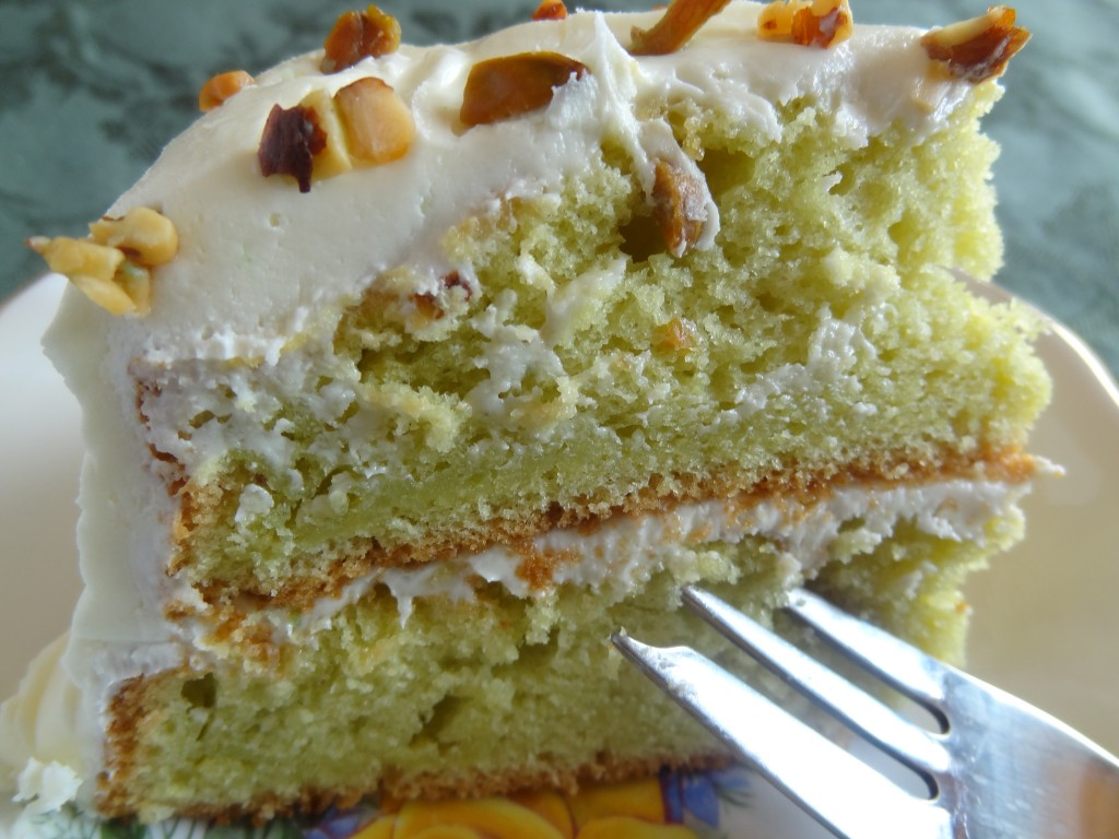 Pistachio Cake Recipe — Dishmaps