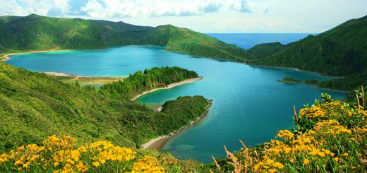azores-sao-miguel island-fire-lake