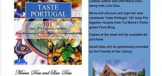 Taste Portugal cookbook signing