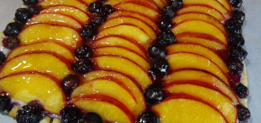 Peach Blueberry Tart 1