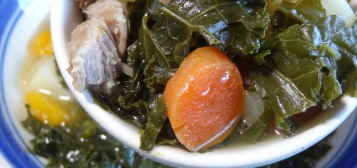 Pork Kale and Vegetable Soup