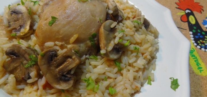 Portuguese Chicken with Rice