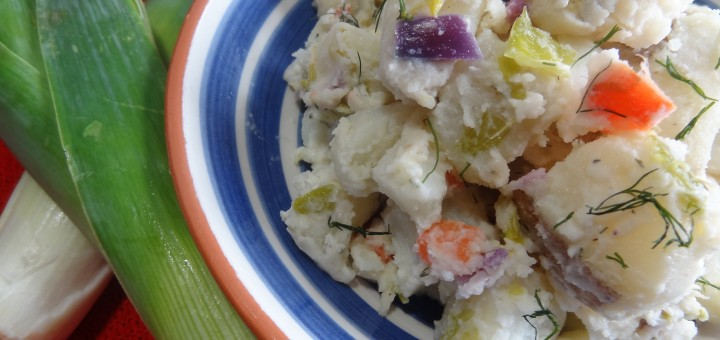Potato Salad with Leek and Dill