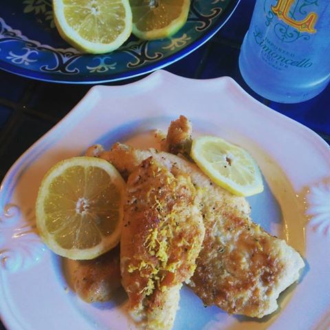 limonchello chicken