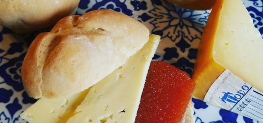 cheese and marmelade