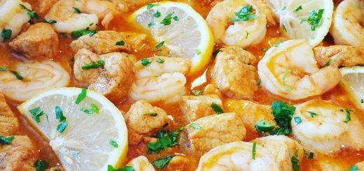 Shrimp and Pork Picadinho